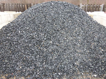 Photo: Black Granite