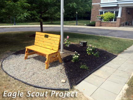 Eagle Scout Project Utilizing Products from Mr. Yard