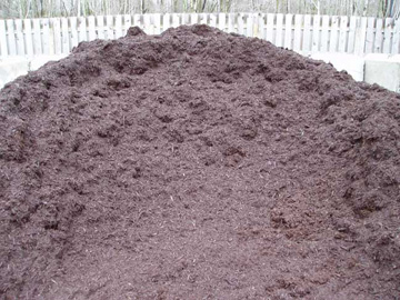 Photo: Mr. Yard Original Double Processed Bark Mulch – Color Enhanced Brown
