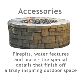 Firepits, water features and more to finish off your outdoor space