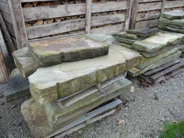 Photo: Steps and slabs