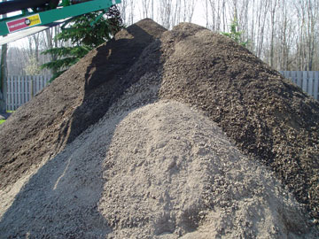 Photo: Mr. Yard Topsoil Pile